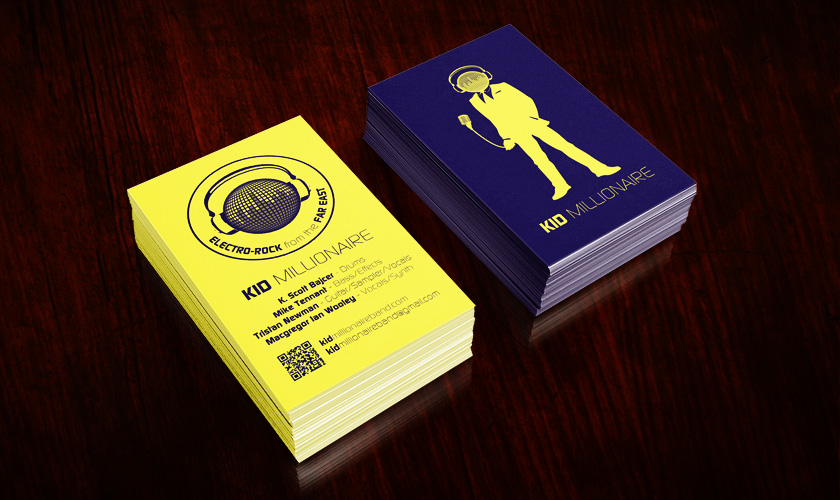 Kid Millionaire Business Cards
