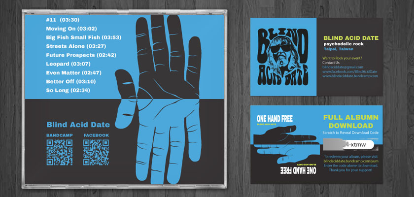 One Hand Free Album & Cards